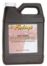 Andrew Mack Fiebings Prime Neatsfoot Oil Pinstriping Brush Preservative 16 oz.