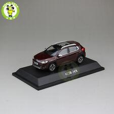 1/43 China Citroen C3-XR C3 XR Diecast Suv car model Brown