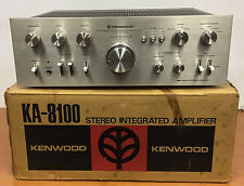 Vintage Kenwood KA-8100 Audio DC Amplifier - Dual Power Supply