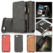 For Samsung Galaxy S5/S8/S7/S7 Edge leather wallet cover stand Case Flip Cover