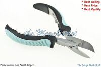 Quality TOE NAIL CLIPPER Cutter Nippers - Chiropody Heavy Duty THICK ROUND NAILS