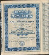 Mines d'ARRENS (HAUTES-PYRÉNÉES 66) (M)