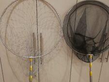 3.5mx50cmfishing landing net s/steel handle/frame big or small mesh freeship $33
