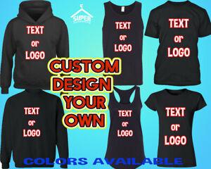 Custom Design Your Own Print T Shirt Sweatshirt Hoodie Printing Shirt Customized