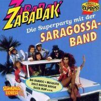"""SARAGOSSA BAND """"ZABADAK"""" CD NEUWARE"""