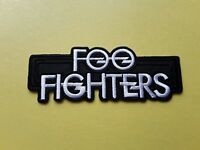 POP, ROCK, PUNK, METAL MUSIC SEW ON & IRON ON PATCH:- FOO FIGHTERS