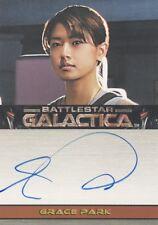 "Battlestar Galactica Season 3 Grace Park as Lt. Sharon ""Boomer"" Valeri Auto Card"