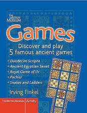 Games: Fold Out the Boards and Play 5 Famous Ancient Games by Irving Finkel...