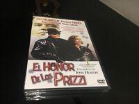 Il Onore De Los Prizzi DVD Jack Nicholson Kathleen Turner Anjelica Huston Quadro