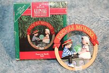 Hallmark Keepsake Ornament New Collector Series Peace on Earth Italy 1991