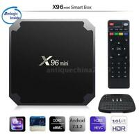 X96 Mini TV Box Android 7.1.2 Amlogic S905W Quad Core WiFi HD 2GB 16GB 4K Player