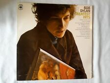 Bob Dylan Greatest Hits Excellent Vinyl LP Record CBS 62847 Stereo