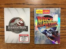 Dvd Jurassic Park Collection & Back To The Future Trilogy