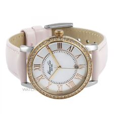 Bnib KENNETH COLE NY Gold & Pink MOP Dial Leather Ladies Watch KC2845 RRP£115