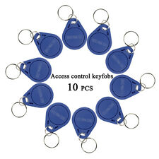 10PCS RFID 125KHz Proximity ID Token Tag Key Keyfobs For all Door Entry system