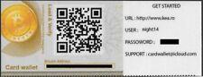 Rare KEA Physical Bitcoin Card Wallet 2013 Collectible