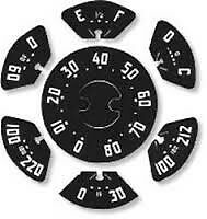 GAUGE DECAL SET CHEVROLET TRUCKS 1947 1948 1949 GAUGE AND SPEEDO DECALS