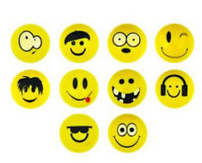 10 x 35mm Smiley Face Jet bouncey palle, Partito Filler Kids Fun
