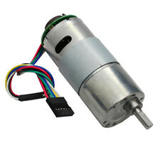 DC12V 1000rpm Encoder Disk Speed Reduction Gear Motor with Encoder Speed