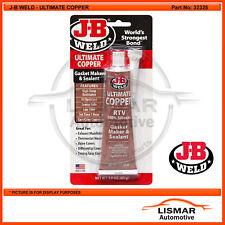J-B WELD Ultimate Copper RTV 100% Silicon Gasket Maker & Sealant 85g -  JB 32325
