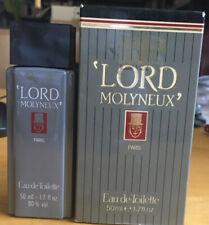 LORD MOLYNEUX EAU DE TOILETTE 50ml. Vintage