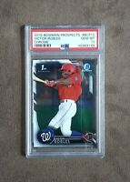 2016 Bowman Chrome Victor Robles 1st Bowman Chrome BCP10 PSA 10 Gem Mint