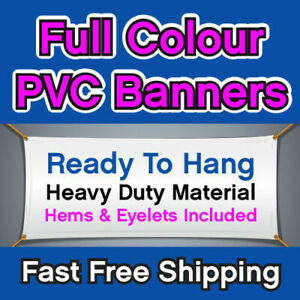 13ft long and 6ft height Banner Heavy Duty 510gsm coated