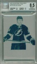 13/14 Panini National Treasures Ryan Callahan Cyan Printing Plate #'ed 1/1
