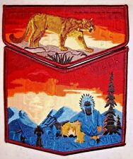 OA TU CUBIN NOONIE 508 UTAH NATIONAL PARKS 2-PATCH 2009 TEPEE WEEK 55TH ANN FLAP