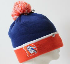 NFL Denver Broncos Throwback Baraka Two Tone Cuff Knit Adult Beanie Hat OSFM
