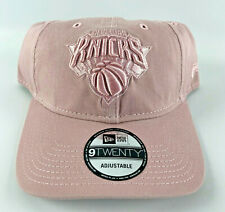 New York Knicks Baseball Adjustable Strapback Hat New Era 9Twenty Pink