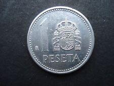 Moneda de una peseta España 1987