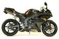 R&G Black Lower Crash Protectors - Aero Style for Yamaha YZF-R1 2007