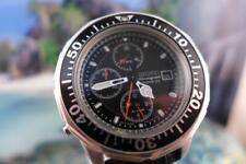 Sharp SS 7T32 7079 Seiko 3 reg Chrono Mens Quartz Date Watch 42mm 773462
