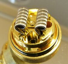 4x Tripple Core Fine Fused Coils HQ Handmade KA1 / NI80 0.25Ohm Peerless, Manta