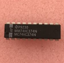 2 PCS - National Semiconductor MC74HC374N