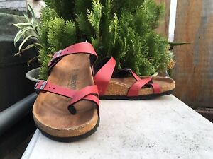 Birkenstock MAYARI Sandal Women's Sz 9 US 40EUR Red