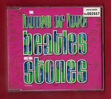 THE HOUSE OF LOVE - Beatles And The Stones (1990 Limited Numbered Edn 3 trk CDS)