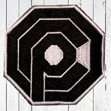 Robocop OCP Black Logo Embroidered Big Patch Detroit Police Omni Consumer Prod