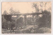 VINTAGE POSTCARD WHITE BRIDGE, TENTHILL QLD 1900s