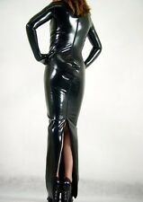 Metallic Lycra Dress Spandex Suit Catsuit Halloween Party Zentai Costumes S-XXL