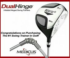 Medicus 460cc Driver Trainer Loft 10.5 DualHinge Golf club Training Aid Men RH