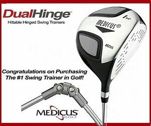 Medicus 460cc Driver Trainer Loft 10.5 DualHinge Golf club Training Aid Men RH