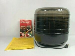 NEW Ronco 5 Tray Electric Food Dehydrator Beef Jerky Fruit Machine Original 1876