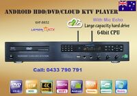 Vietnamese /English /Chinese KHP-8832 Android Karaoke DVD Player 4K Cloud,No HDD