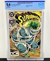 Superman: The Man of Steel #18 CBCS 9.4! 5th Print! HTF! 1st Appearance Doomsday