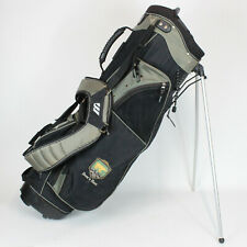 "Mizuno Pro Golf Bag 5 Way Club Divider with Stand ""Bear's Best"" Black Green"