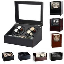 Motor Box Wristwatch Mechanism Cases Storage Automatic Watch Winder 6 + 4 Silent