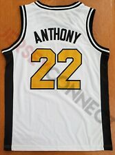 New Carmelo Anthony Towson Catholic Owls Basketball Jersey (S,M,L,XL,2XL)