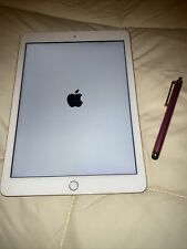 iPad 6th Generation Gold-With Pink Pen-Pristine Condition